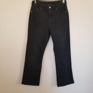 Topshop Moto Black Cropped Jeans 28
